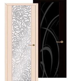 Двери триплекс